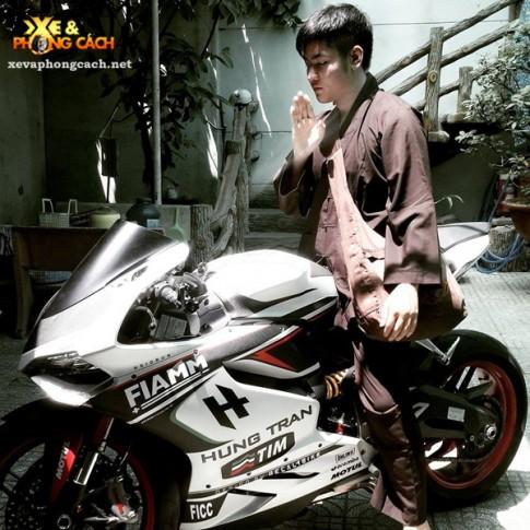 Tu ghet toc do den yeu say dam Ducati 899 Panigale cua Biker 9X