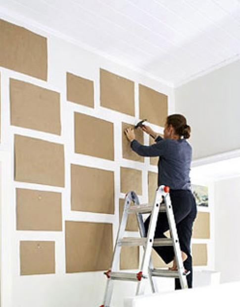 Tự sơn tường nhà đẹp