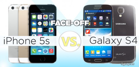 Tu van : Nen chon iPhone 5s hay Samsung Galaxy S4