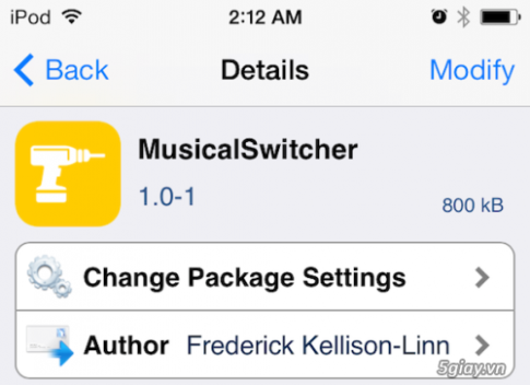 Tweak MusicalSwitcher: Bien man hinh app switcher thanh piano