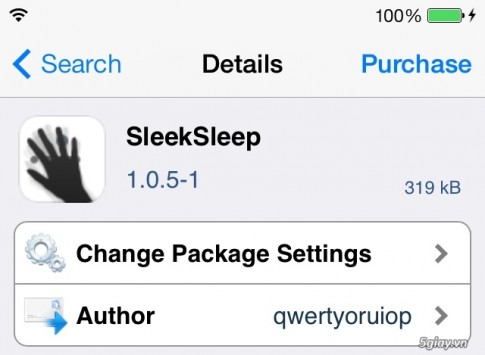 Tweak SleekSleep: bat/tat che do ngu cho iPhone bang cam bien tiem can