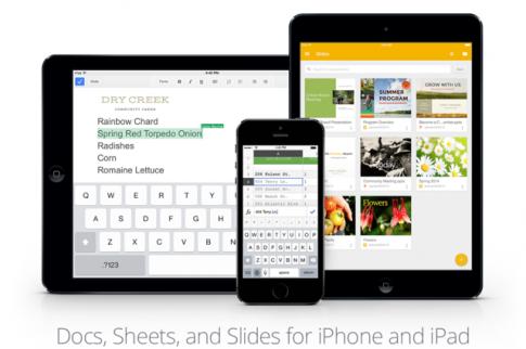 Ung dung Slides cua Google chinh thuc ra mat cho iPhone, iPad