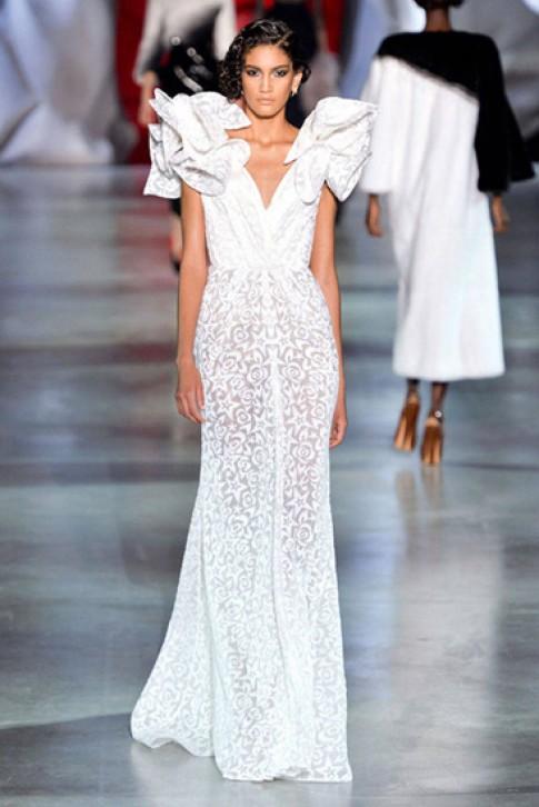 Vay cuoi Couture dep nhat Tuan thoi trang Paris 2014