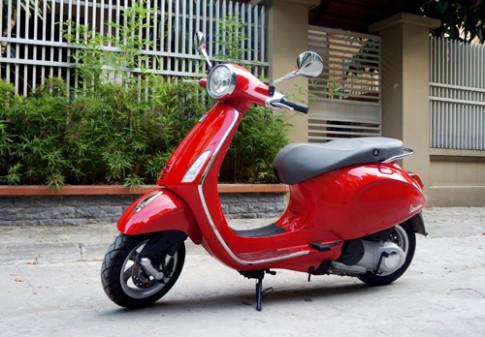Vespa Primavera chiec xe tay ga danh cho phai dep