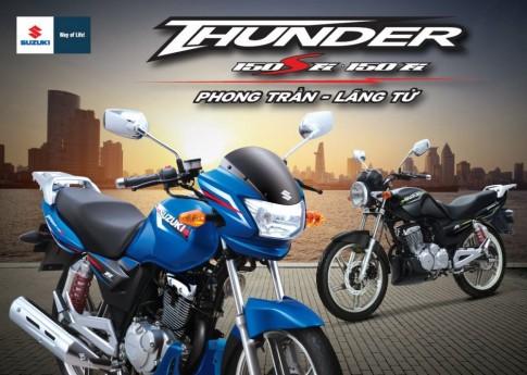 [Viet Nam] Suzuki Thunder 150 Fi sap duoc ra mat