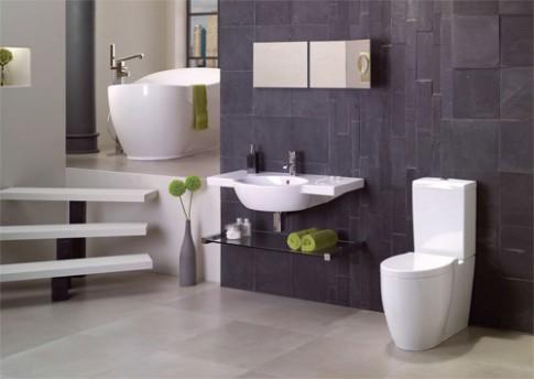 Vợ chồng mâu thuẫn chỉ vì màu gạch nhà tắm