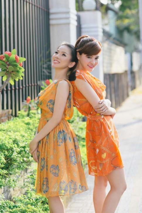 Vũ Thu Phương, Lệ Quyên dạo phố với thời trang mùa hè