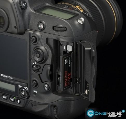 Vua ra mat, Nikon D4s da gap van de
