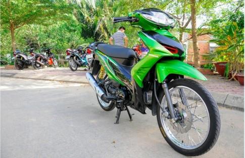 Wave 110 don kieng phong cach Thai