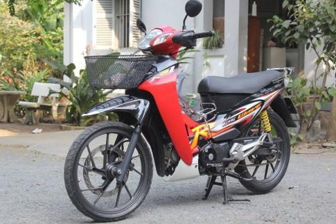 Wave 125R cực tươi ở Sài thành