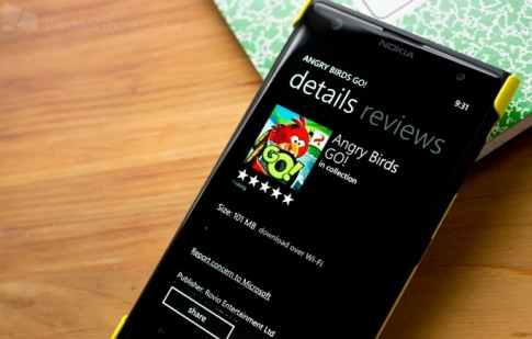 [WP8] Angry Birds Go! cap nhat len phien ban 1.2, co them man Sub Zero (Mien phi)