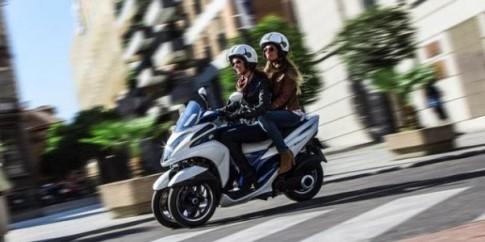 Xe ga 3 bánh độc đáo của Yamaha đã đến Hà Nội