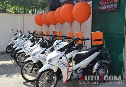 Xe ôm 3 bánh dành cho người khuyết tật độc đáo tại Sài Gòn