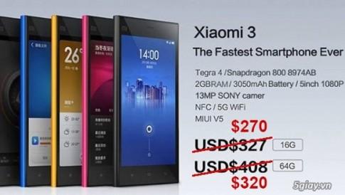 Xiaomi hạ giá smartphone khủng để đáp trả OnePlus One
