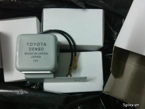 """Xinhan Toyota Denso """"ting tong"""" cho anh em biker"""