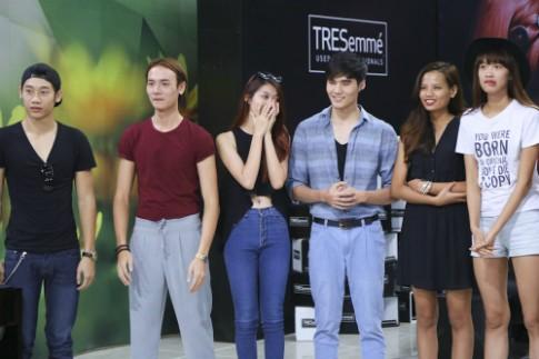 Xuân Lan cùng thí sinh Next Top khác lạ trong diện mạo mới
