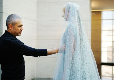 Xuong may Haute Couture cua Elie Saab tai Beirut
