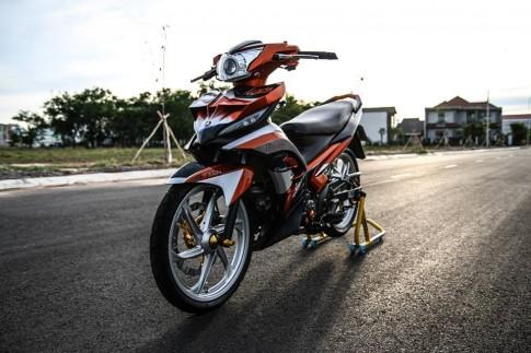 Yamaha Exciter 135 do khoe dang tren pho