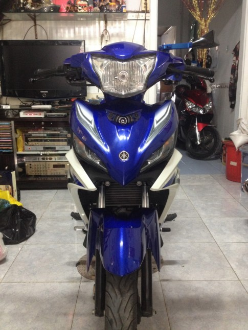 Yamaha Exciter 135 Xanh GP 08/2012 Nguyen Zin it su dung kg vet tray!