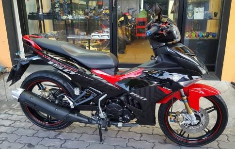 Yamaha Exciter 150 do nhe nhang tai dat Thai