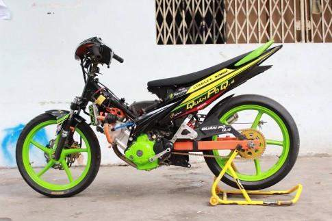 Yamaha Exciter do khung tu lo do ten tuoi