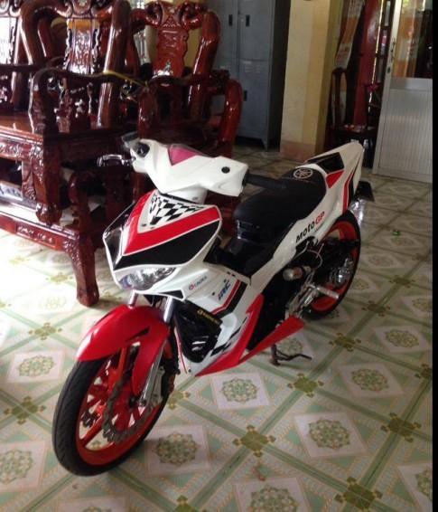 Yamaha Exciter độ theo phong cách xe môtô đua thể thao