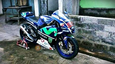 Yamaha Fz150i độ phong cách M1 của tay đua Lorenzo