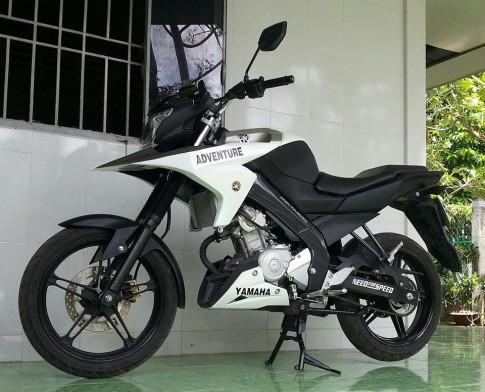 Yamaha Fz150i do theo phong cach Adventure