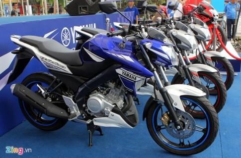 Yamaha FZ150i phiên bản xanh GP tại Việt Nam