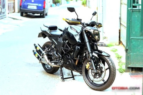 Yamaha FZ16 Byson do phong cach Ducati Streetfighter