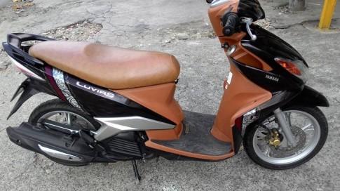 Yamaha Luvias 125 mau nau den doi 2011,xe dep, gia 16tr