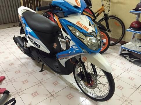 Yamaha Luvias do che son doc dao tai Sai Gon