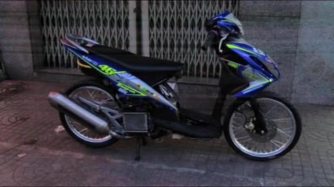 Yamaha luvias Drag phien ban do cuc ngau