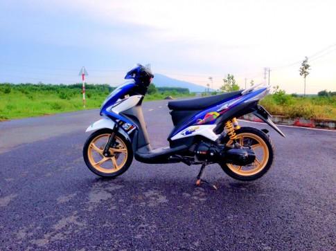Yamaha luvias kieng nhe dan ao mio 125i thailan