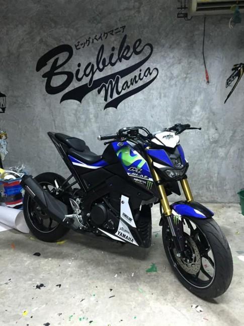 Yamaha M-Slaz 2016 Phien ban Custom Movistar