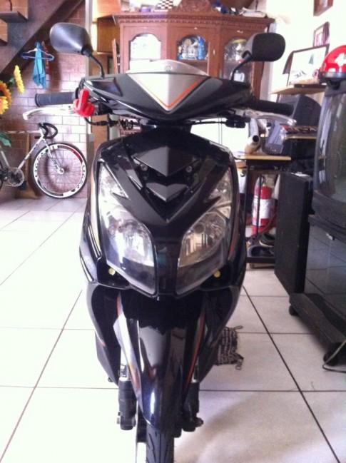 Yamaha mio mới lạ cùng đầu đèn nouvo 2