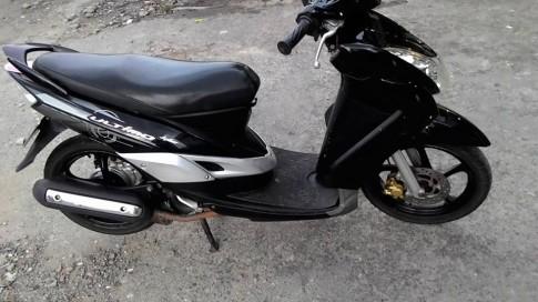 Yamaha Mio Ultimo màu đen, xe đẹp leng keng, zin giá 10tr