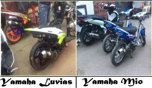 Yamaha Mio va Yamaha Luvias: Huyen Thoai va Duong Dai
