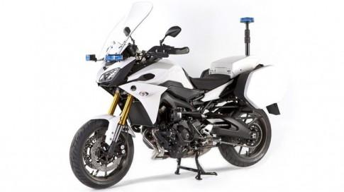 Yamaha MT-09 Tracer đa dụng với phiên bản cảnh sát Pháp