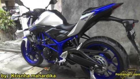Yamaha MT-25 Len do choi nhe nhang