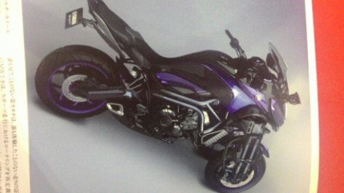 Yamaha MWT- 09 Môtô 3 bánh xuất hiện tại Tokyo Motor Show