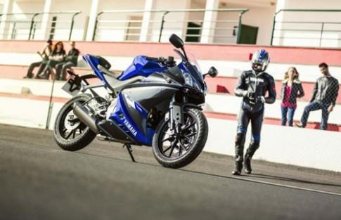 Yamaha nang cap toan dien mau xe Yamaha R125 2014.