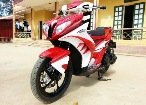 Yamaha Nouvo do cuc phong cach o Yen Bai