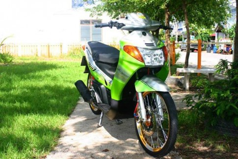 Yamaha Nouvo doi dau do nhe nhang