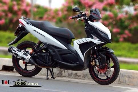 Yamaha Nouvo LX Super Sayan 4 Version