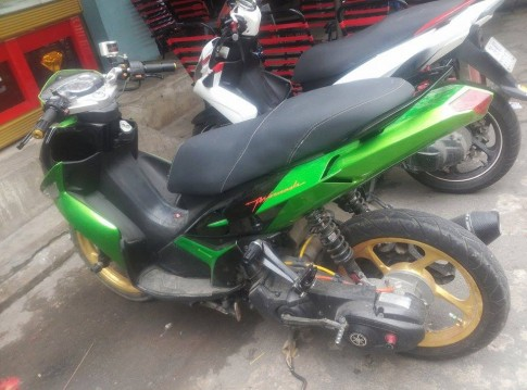 Yamaha Nouvo SX che mu cua Biker Nha Trang