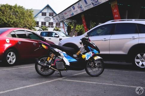 "Yamaha Nouvo SX phien ban ""At Mui"" tai Sai Gon"