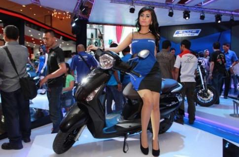 Yamaha Nozza Grande ra mắt thị trường Indonesia