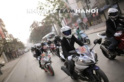 Yamaha R15 song hanh cung Cao Cao don dau tai Ha Noi