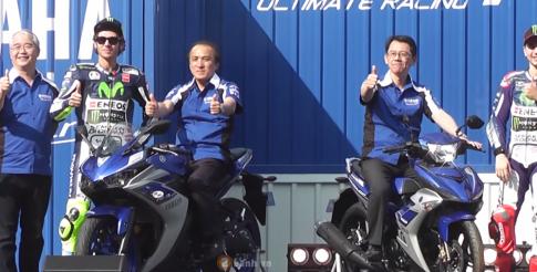 Yamaha R3 2015 ra mắt tại Thái Lan